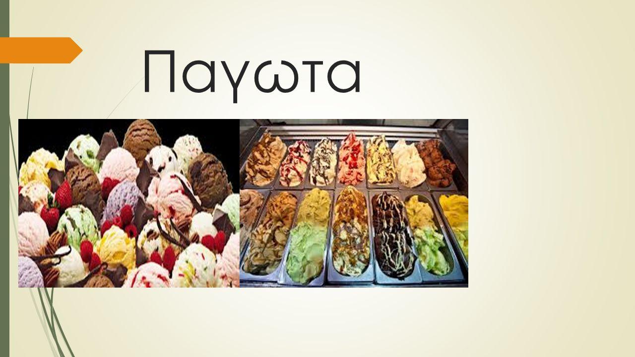 Παγωτα