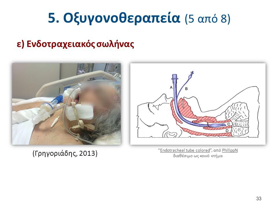 5. Οξυγονοθεραπεία (6 από 8)