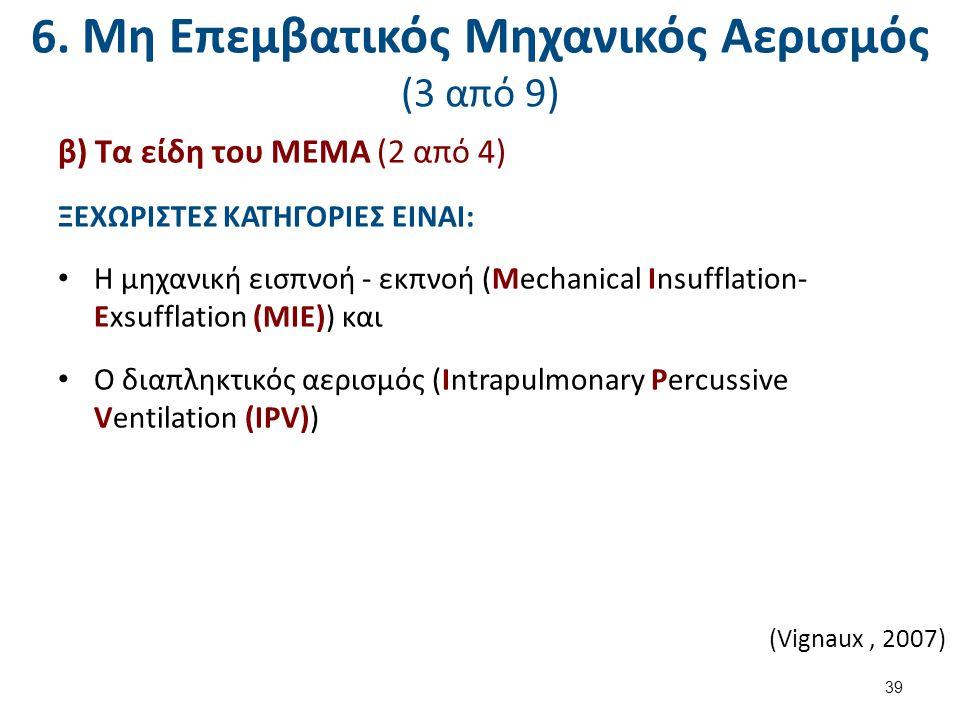 6. Μη Επεμβατικός Μηχανικός Αερισμός (4 από 9)