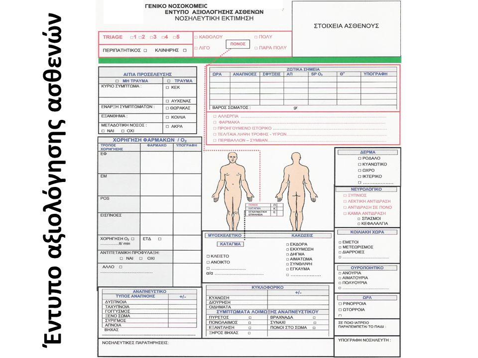 Ιατρική αξιολόγηση ασθενούς