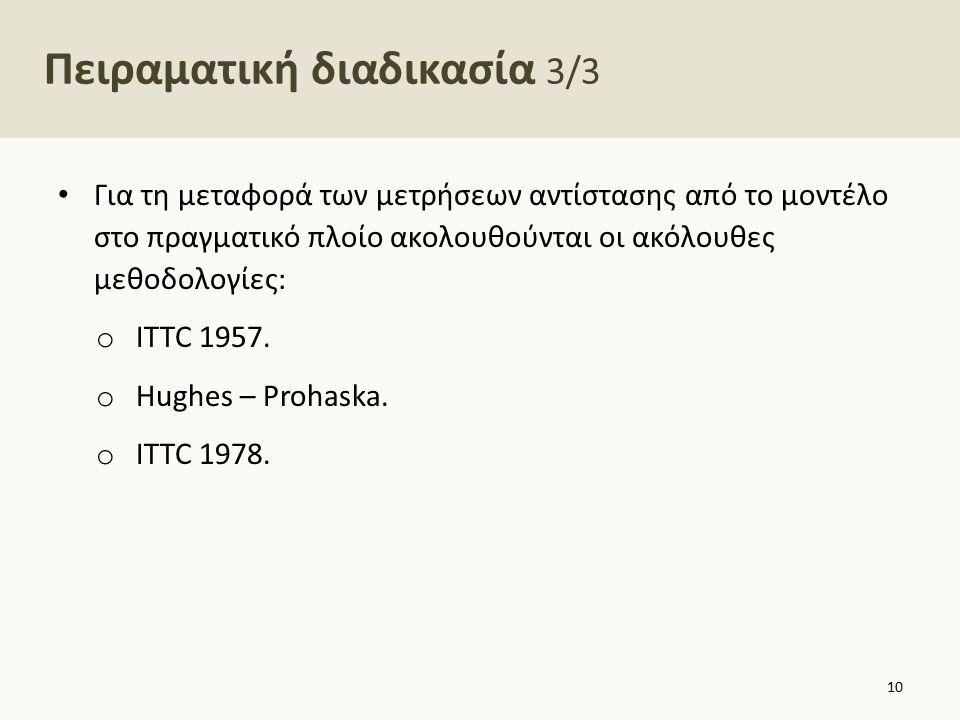 Μέθοδος ITTC 1957 1/3