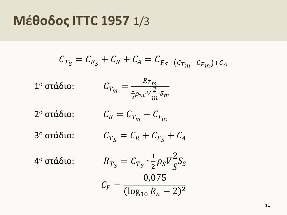 Μέθοδος ITTC 1957 2/3
