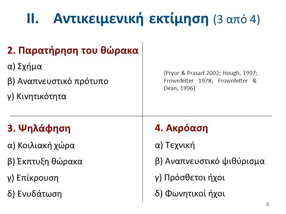 Αντικειμενική εκτίμηση (4 από 4)