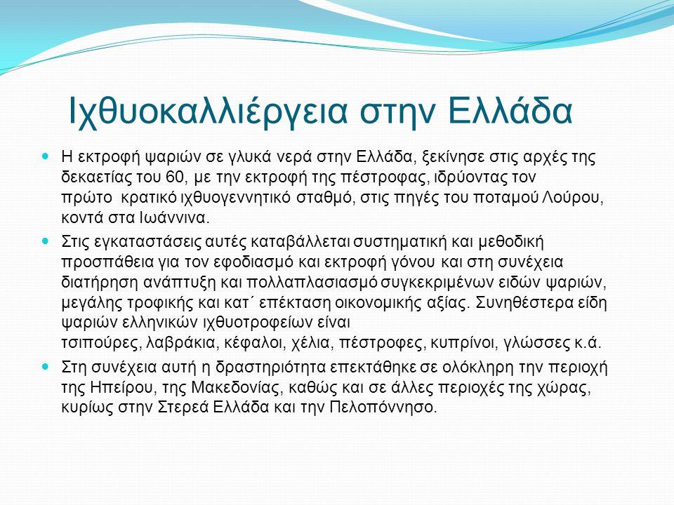 Ιχθυοκαλλιέργεια στην Ελλάδα