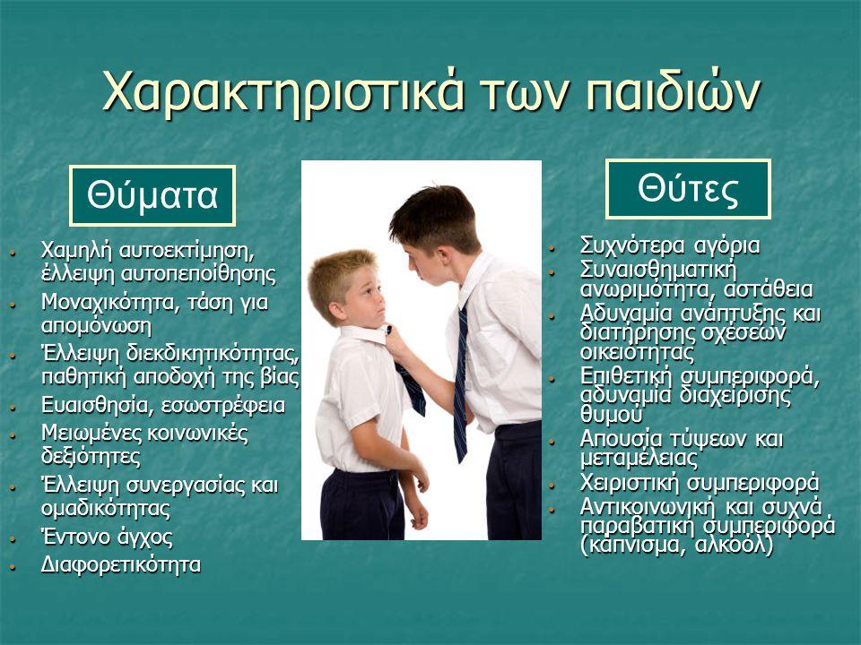 Χαρακτηριστικά των παιδιών