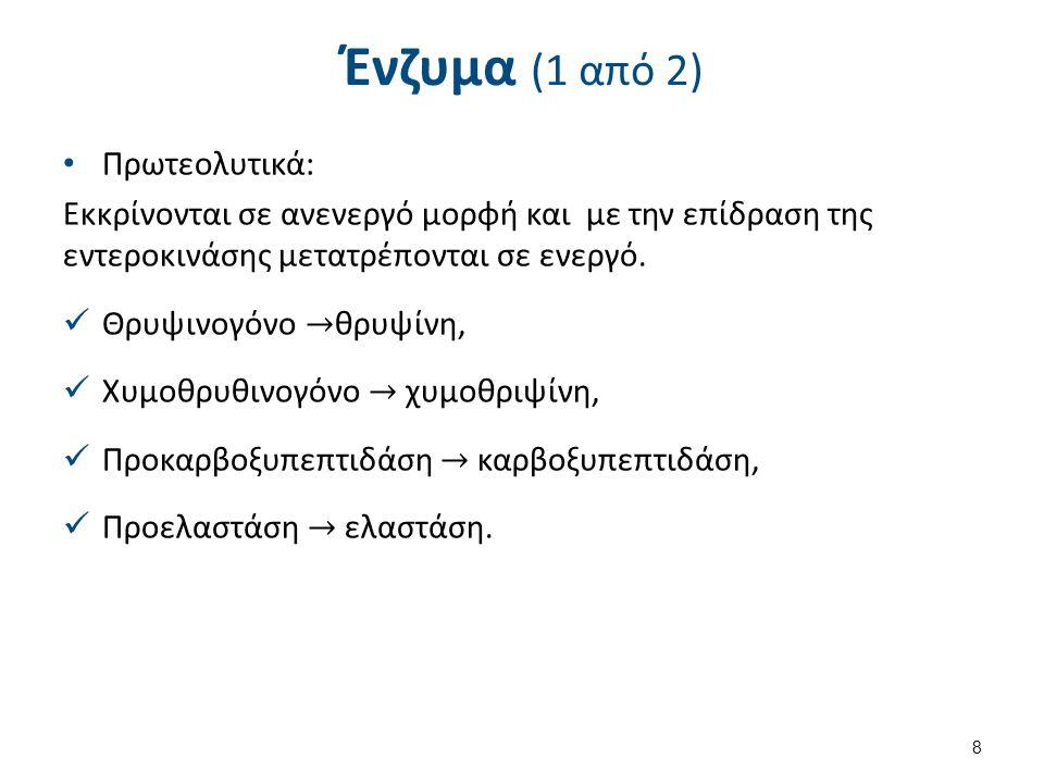 Ένζυμα (2 από 2) Λιπολυτικά, Αμυλολυτικά,