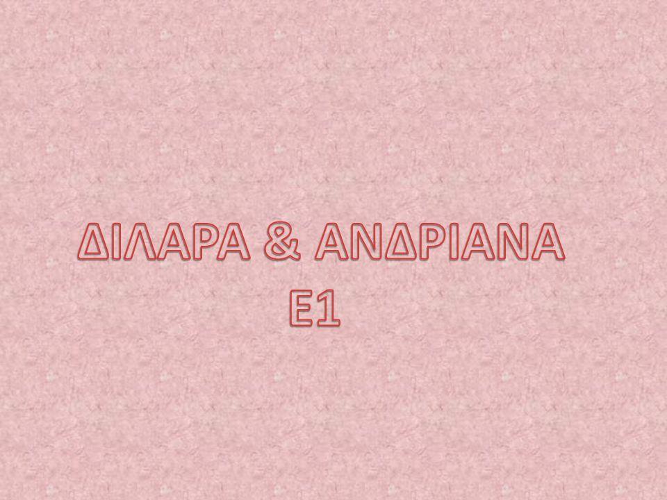 ΔΙΛΑΡΑ & ΑΝΔΡΙΑΝΑ Ε1