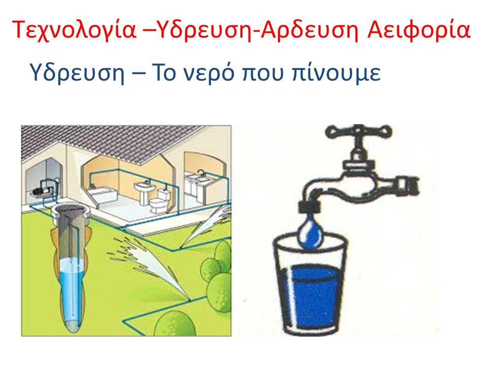 Τεχνολογία –Υδρευση-Αρδευση Αειφορία