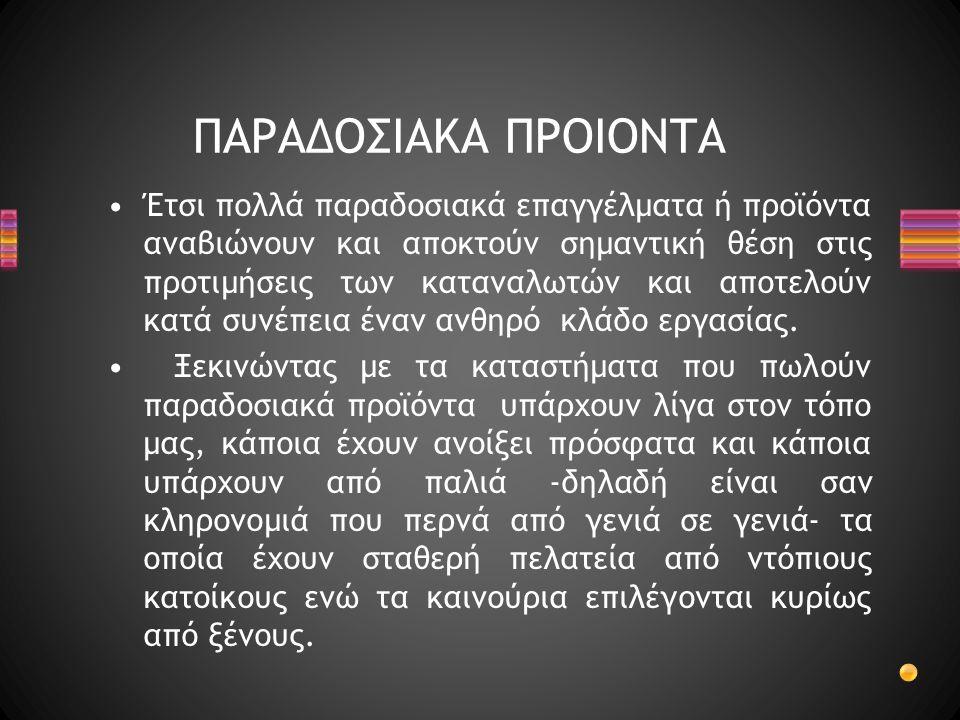 ΠΑΡΑΔΟΣΙΑΚΑ ΠΡΟΙΟΝΤΑ