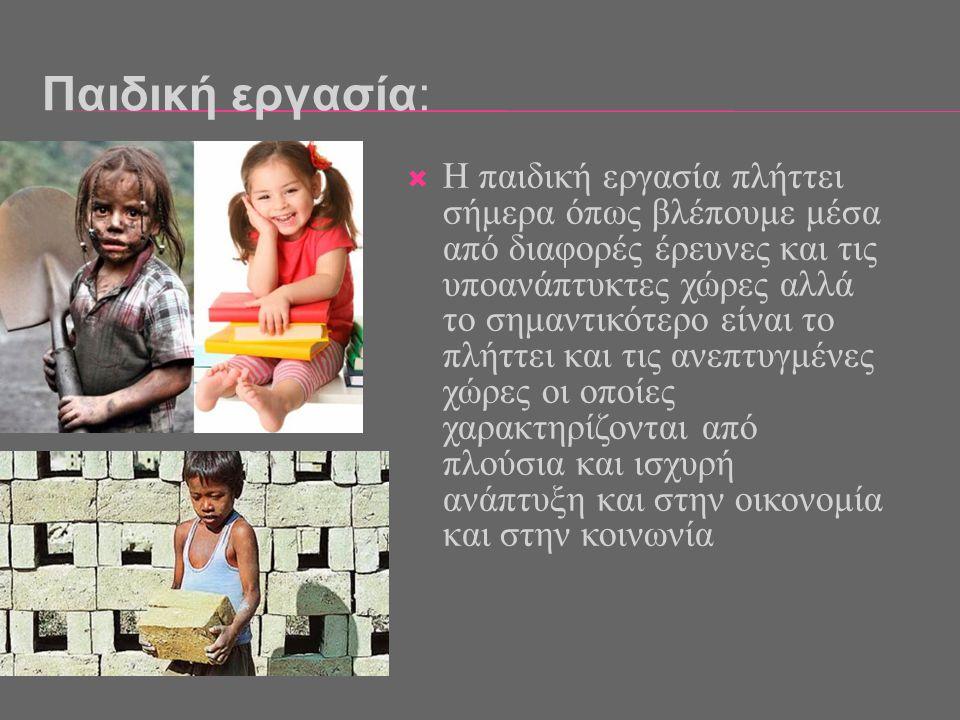 Παιδική εργασία: