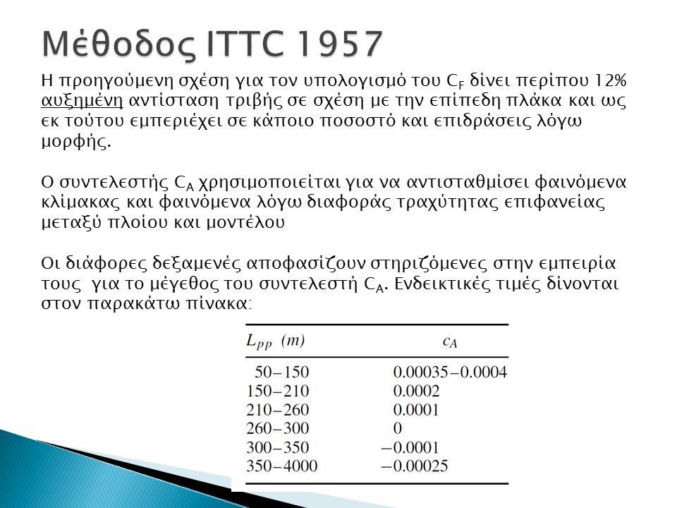 Μέθοδος ITTC 1957