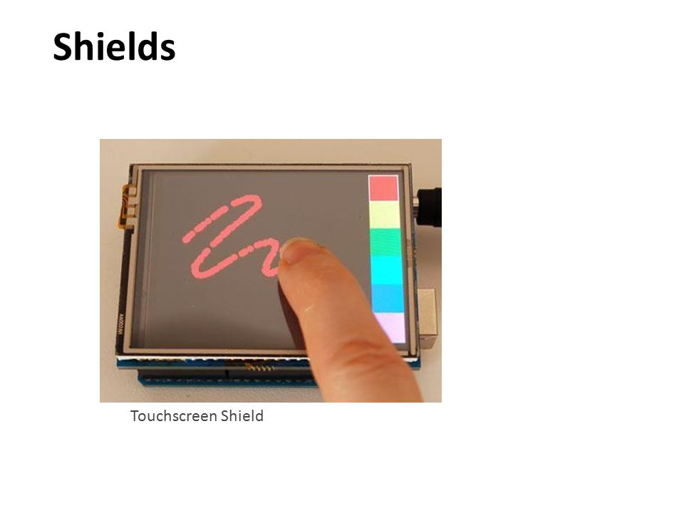 Shields Touchscreen Shield