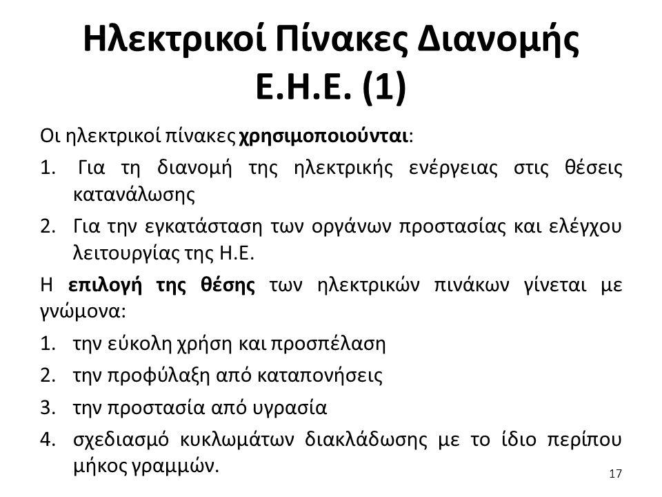 Ηλεκτρικοί Πίνακες Διανομής Ε.Η.Ε. (1)