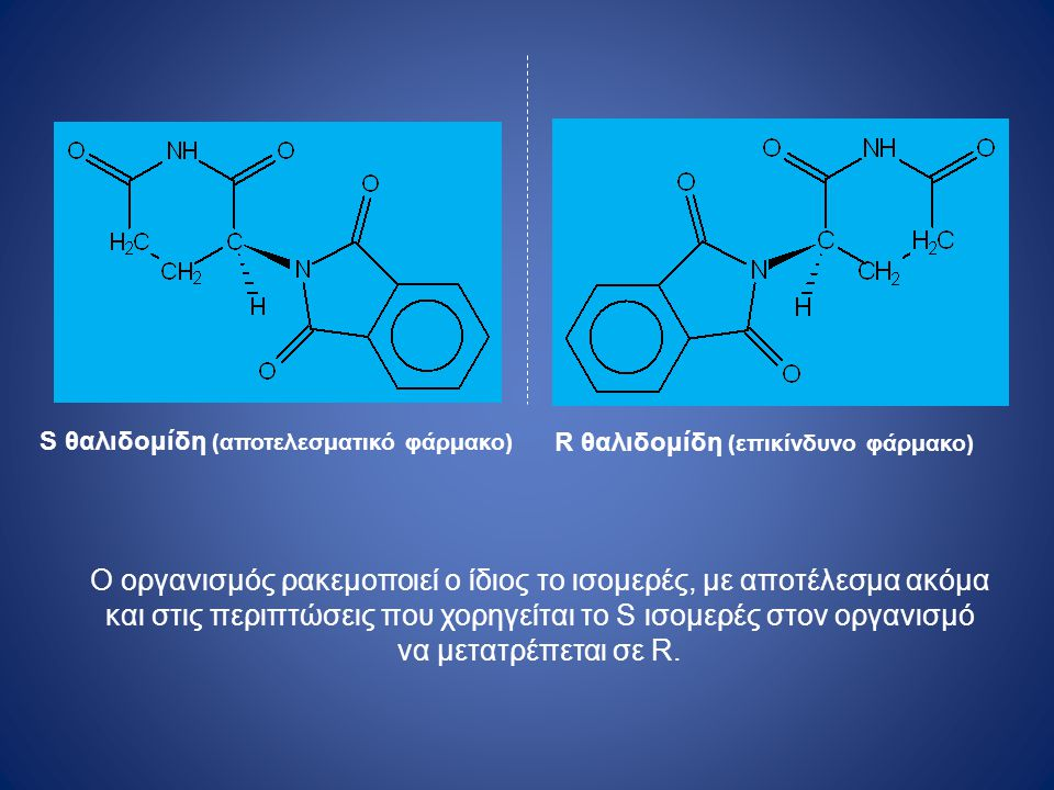 R θαλιδομίδη (επικίνδυνο φάρμακο)