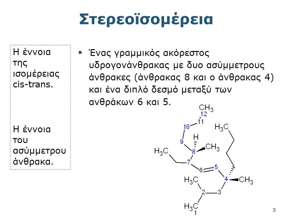 Η αρχιτεκτονική ενός μορίου θεμελιώδης αρχή των βιολογικών ιδιοτήτων