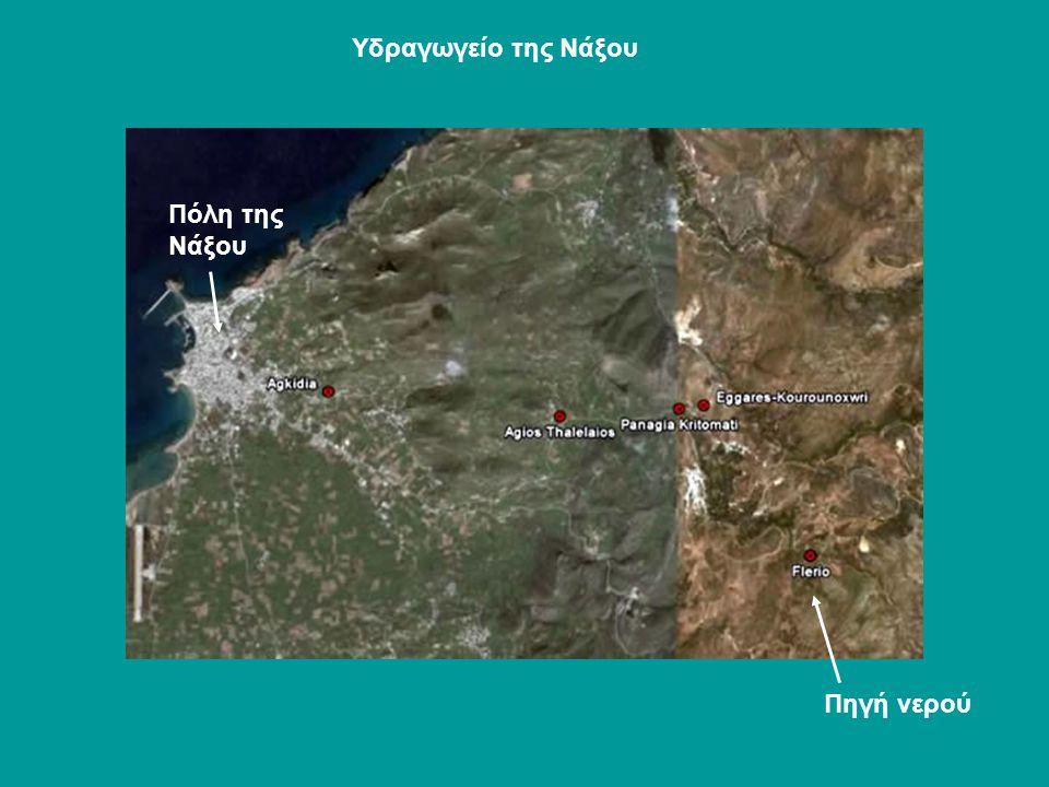 Υδραγωγείο της Νάξου Πόλη της Νάξου Πηγή νερού