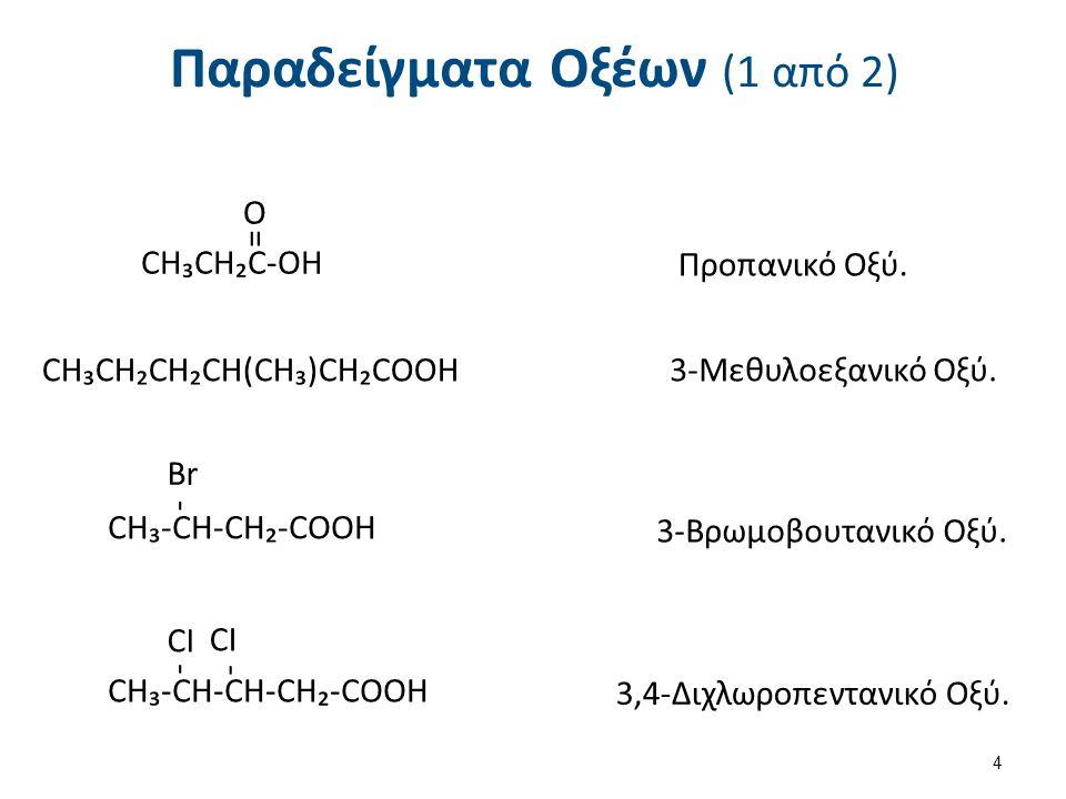 Παραδείγματα Οξέων (2 από 2)
