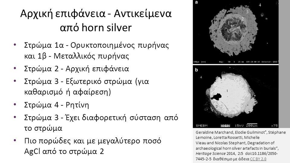 Αρχική επιφάνεια - Αντικείμενα από horn silver