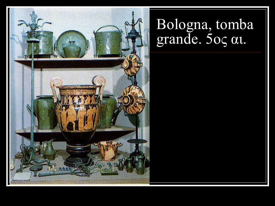 Bologna, tomba grande. 5ος αι.
