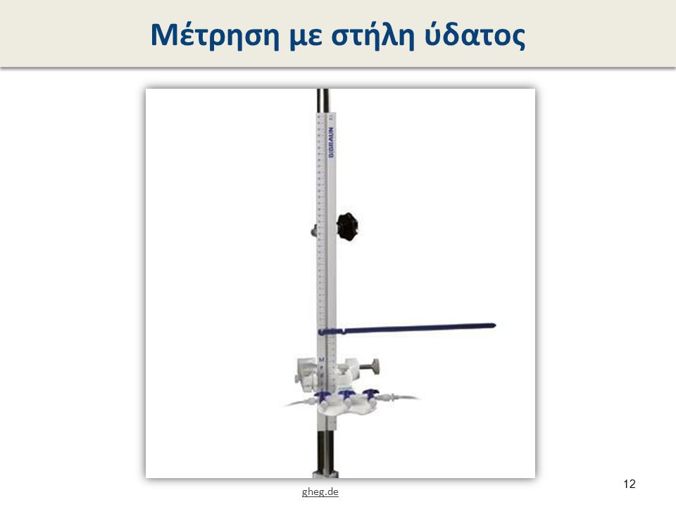 Χρήση μανόμετρου (1 από 3)