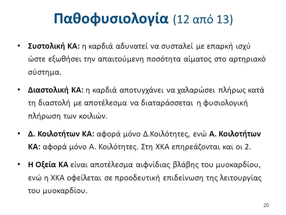 Παθοφυσιολογία (13 από 13)