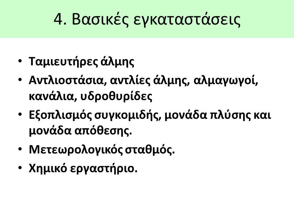 4. Βασικές εγκαταστάσεις
