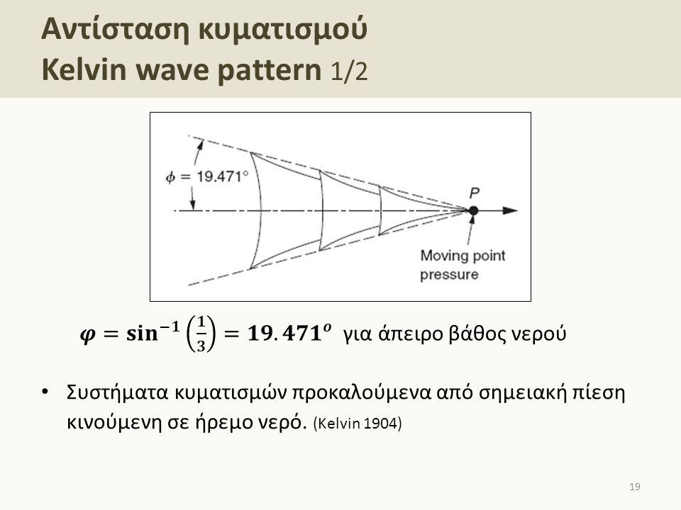 Αντίσταση κυματισμού Kelvin wave pattern 2/2
