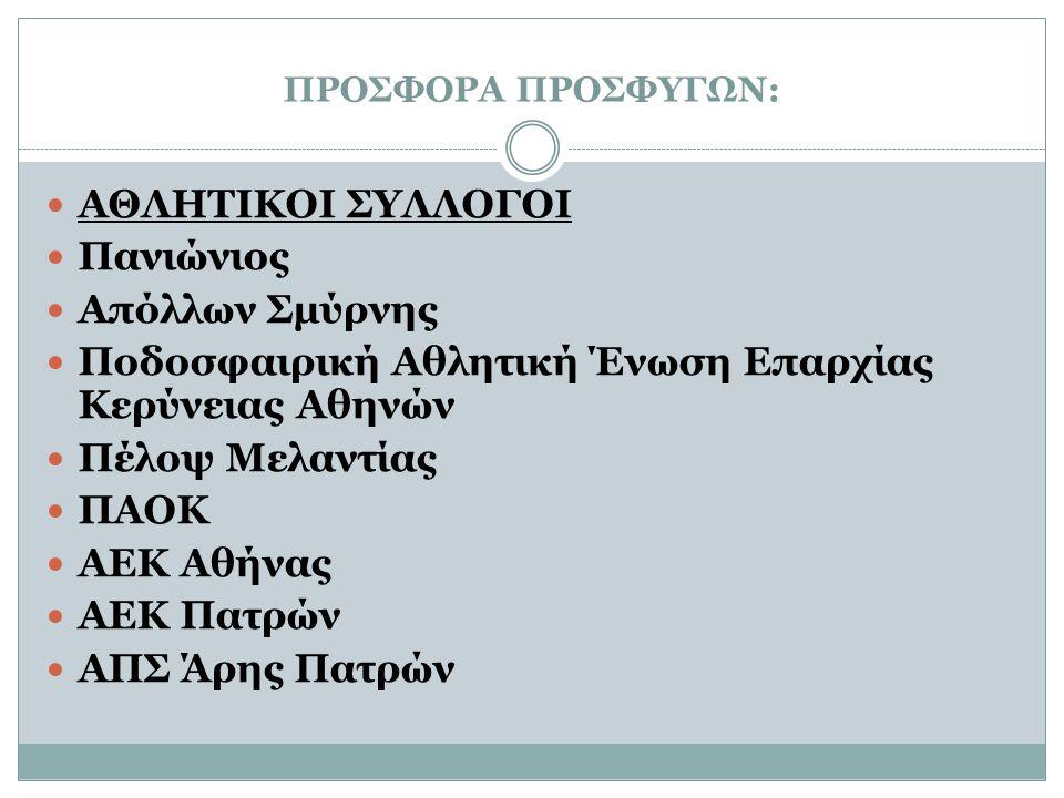 Ποδοσφαιρική Αθλητική Ένωση Επαρχίας Κερύνειας Αθηνών Πέλοψ Μελαντίας