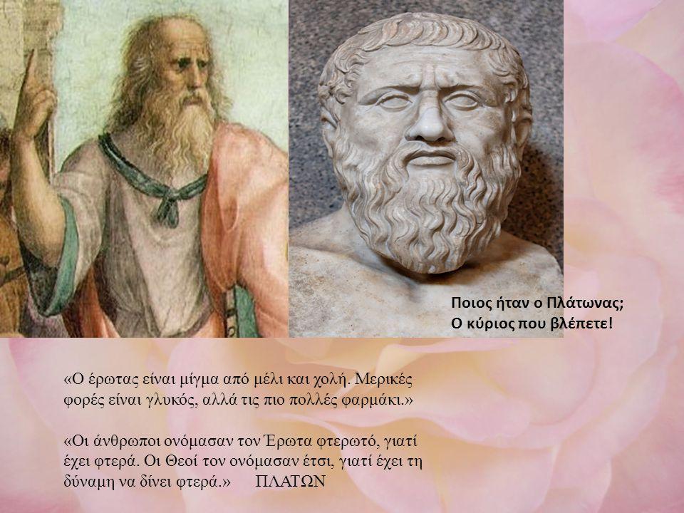 ΞΗΗΘΥ Ποιος ήταν ο Πλάτωνας; Ο κύριος που βλέπετε!