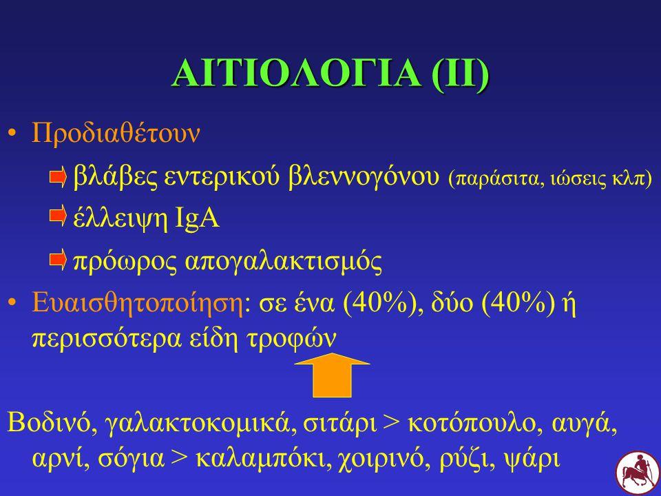 ΑΙΤΙΟΛΟΓΙΑ (ΙΙ) Προδιαθέτουν