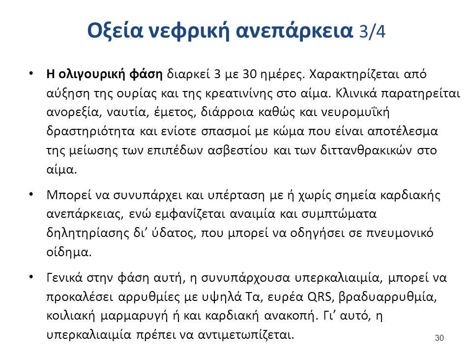 Οξεία νεφρική ανεπάρκεια 4/4
