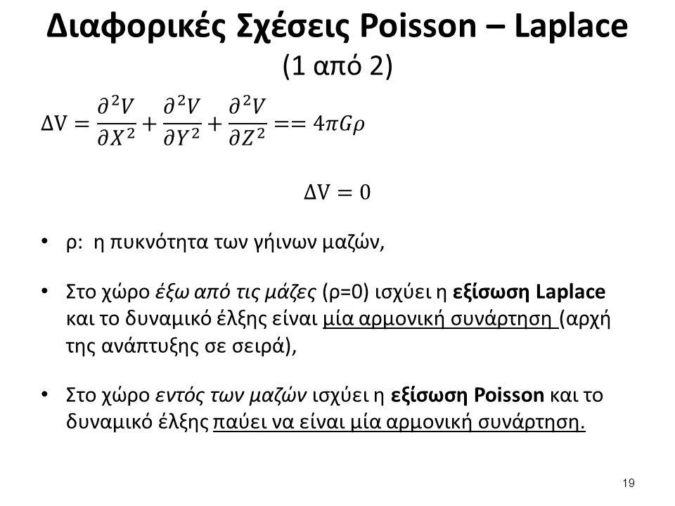 Διαφορικές Σχέσεις Poisson – Laplace (2 από 3)
