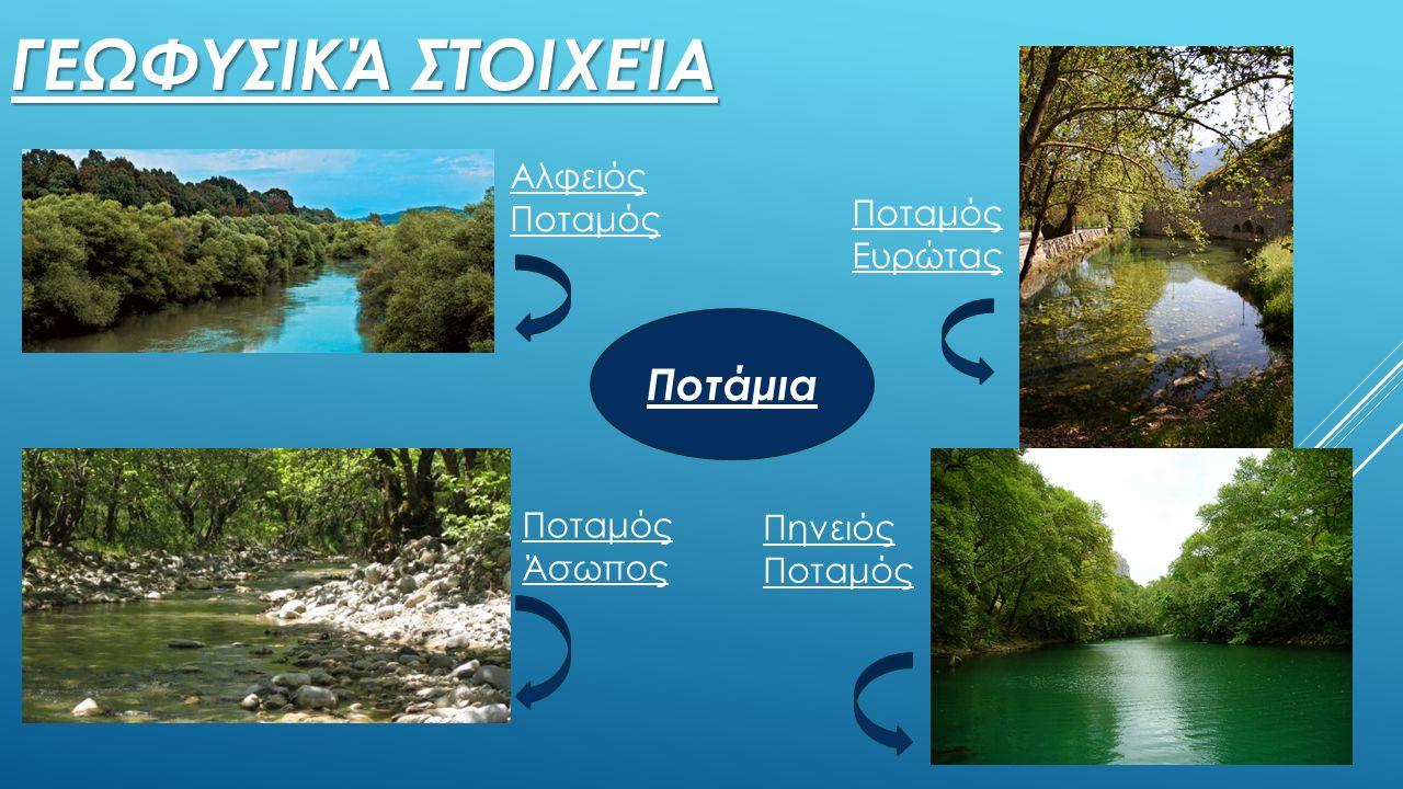Γεωφυσικά στοιχεία Ποτάμια Αλφειός Ποταμός Ποταμός Ευρώτας