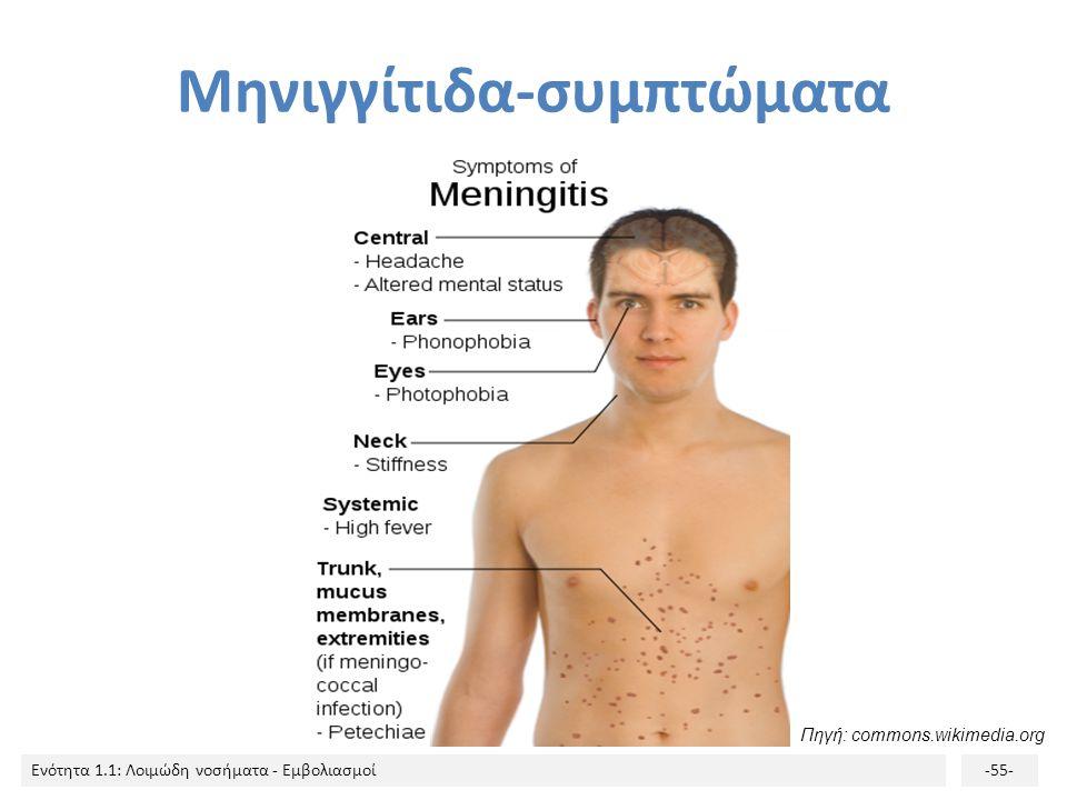Μηνιγγίτιδα-συμπτώματα