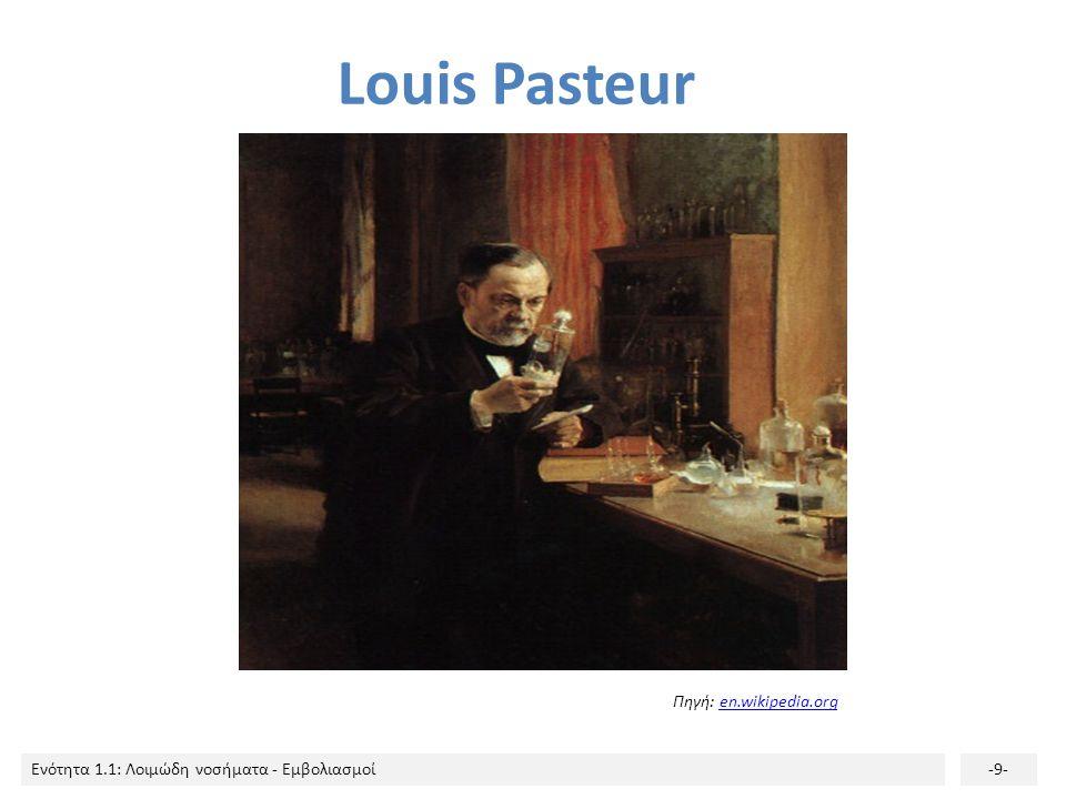 Louis Pasteur Πηγή: en.wikipedia.org
