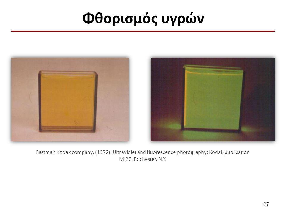 Διάταξη για την απεικόνιση του φθορισμού που προκαλείται από υπεριώδη ακτινοβολία