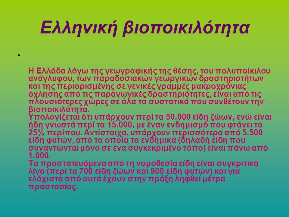 Ελληνική βιοποικιλότητα