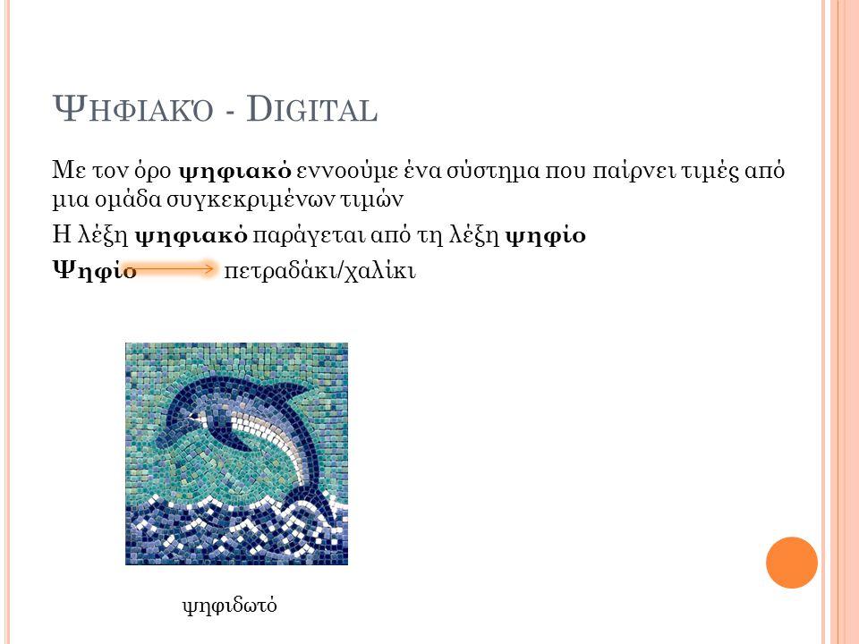 Ψηφιακό - Digital
