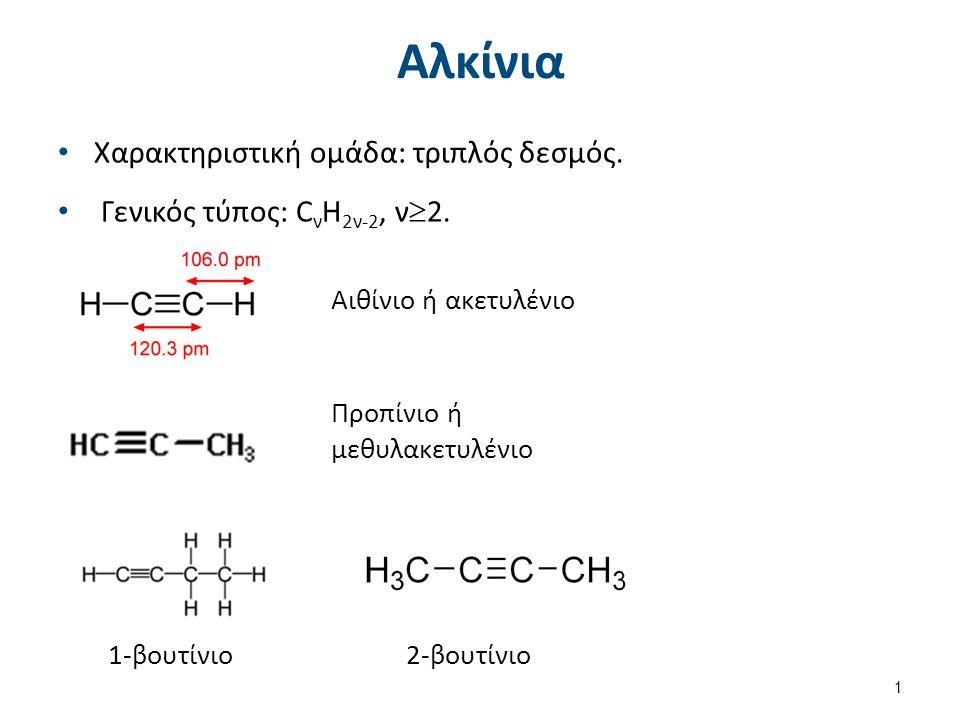 Αλκίνια Μέθοδοι παρασκευής