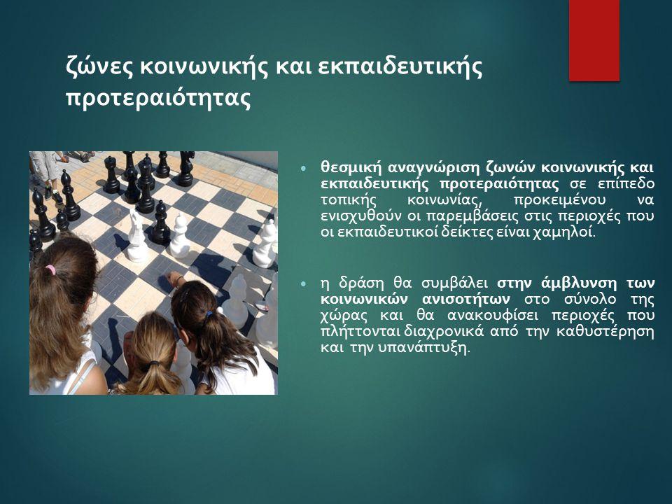 ζώνες κοινωνικής και εκπαιδευτικής προτεραιότητας