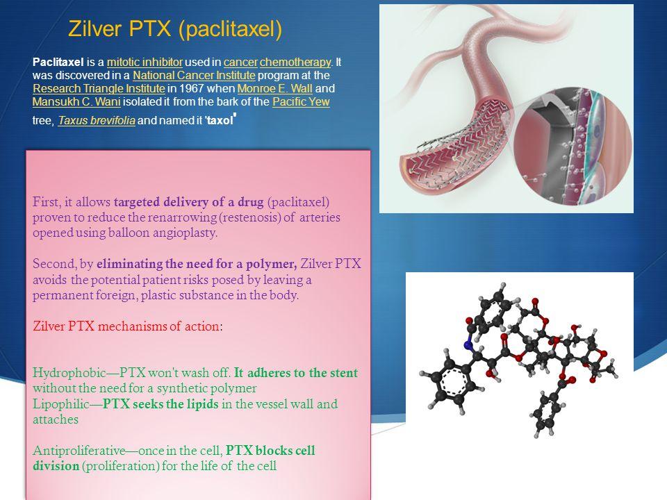 Zilver PTX (paclitaxel)