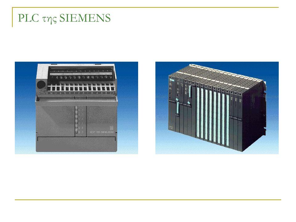 PLC της SIEMENS