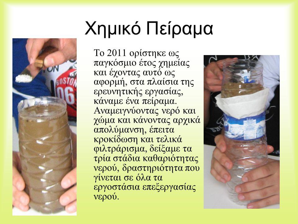 Χημικό Πείραμα