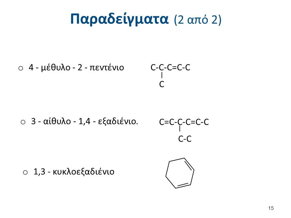 Ονοματολογία Αλκινίων
