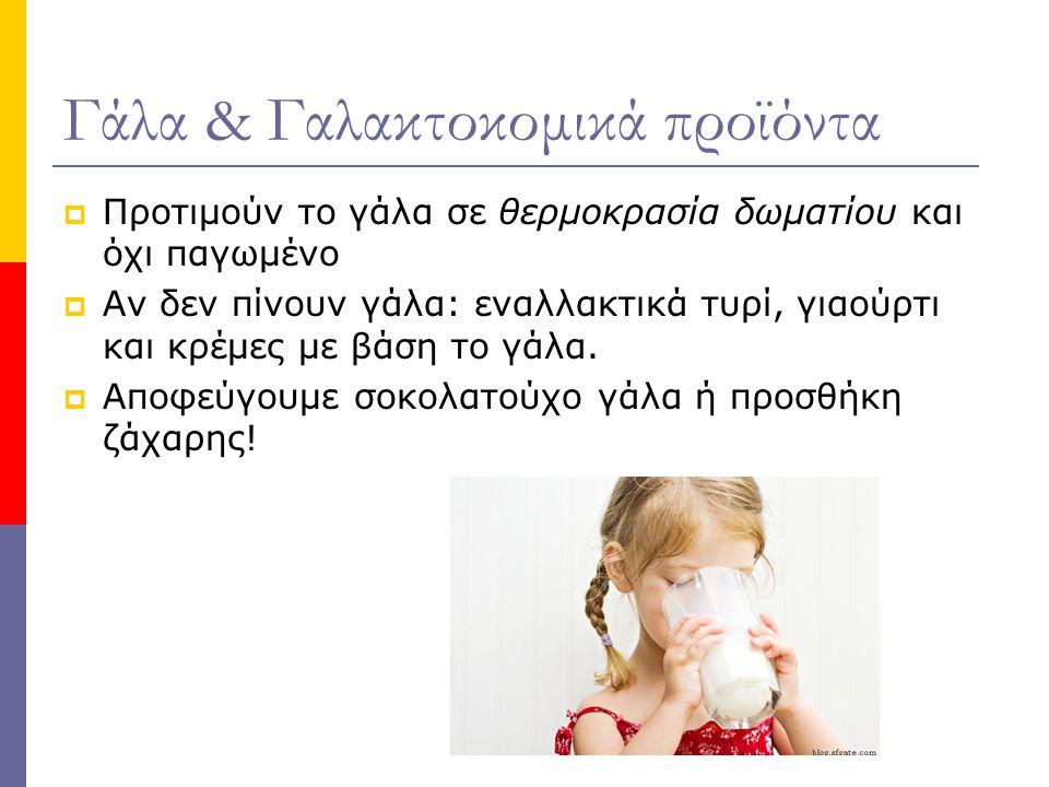 Γάλα & Γαλακτοκομικά προϊόντα