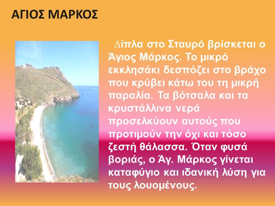 ΑΓΙΟΣ ΜΑΡΚΟΣ