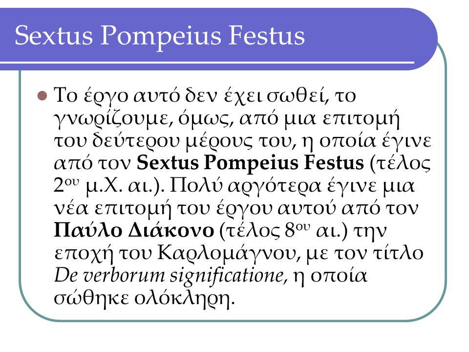 Sextus Pompeius Festus