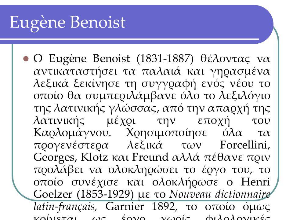 Eugène Benoist