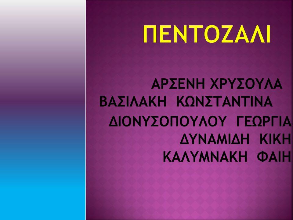 ΑΡΣΕΝΗ ΧΡΥΣΟΥΛΑ ΒΑΣΙΛΑΚΗ ΚΩΝΣΤΑΝΤΙΝΑ