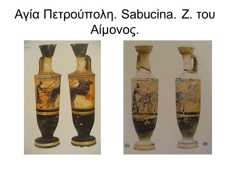Αγία Πετρούπολη. Sabucina. Ζ. του Αίμονος.